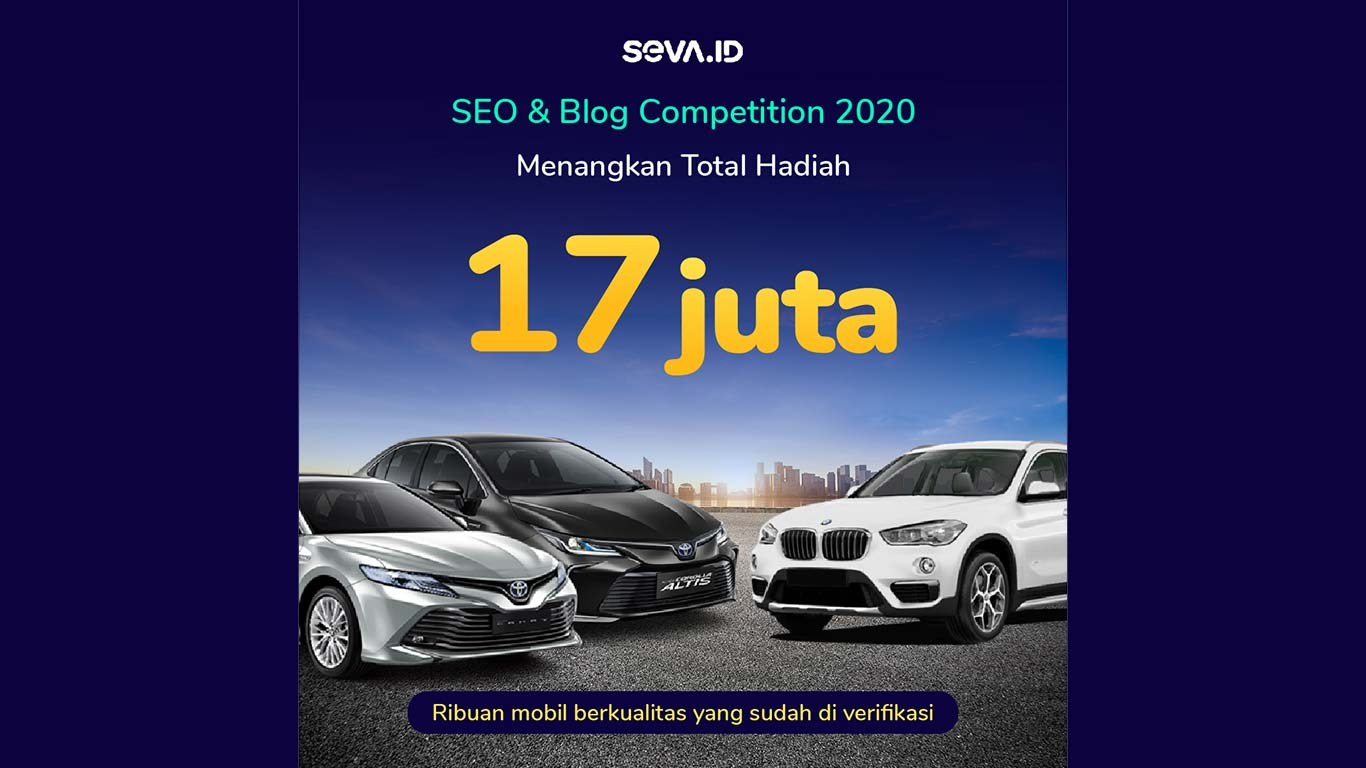 Seva.id SEO Kontes #2 - SEO & Blog Competition September 2020