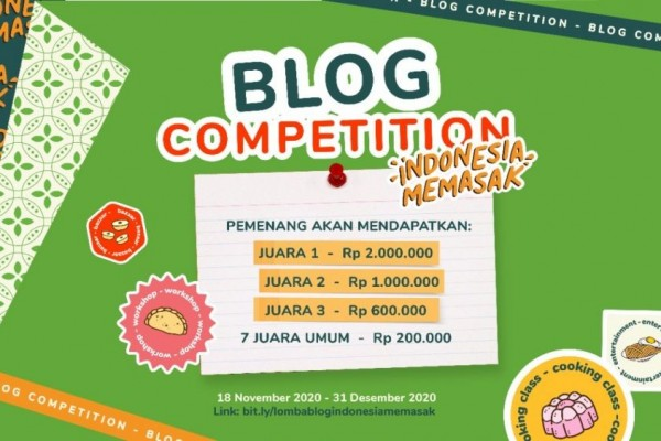 Kontes Blog YUMMY APP - Blog Review Competition Indonesia Memasak 2020